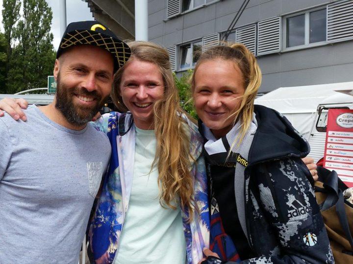 Besuch bei Beach-WM: Ex-Kiezkicker liebt Kozuch-Schwester
