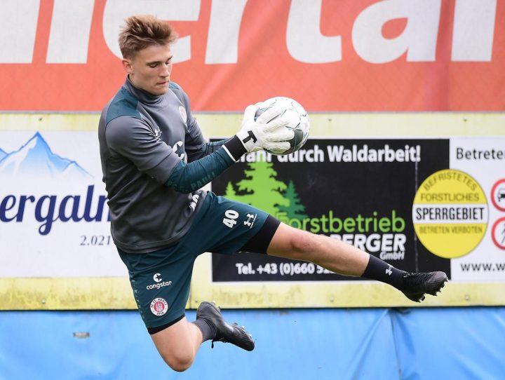 Torwart-Talent: Leon Schmidt will St. Paulis Nummer drei werden