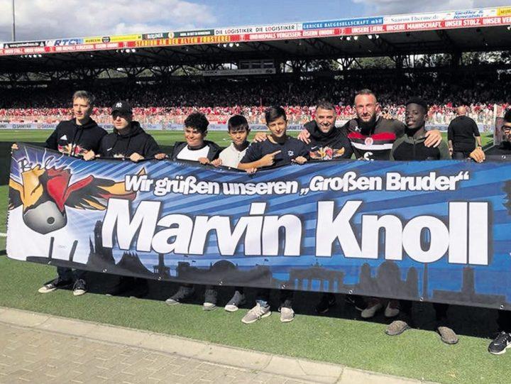 Knoll hat auch seinen Berliner Kiez nicht vergessen