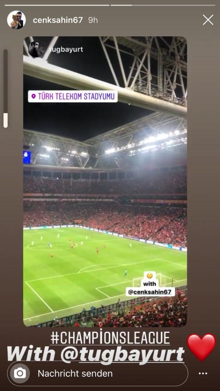 Cenk Sahin meldet sich – aus der Champions League