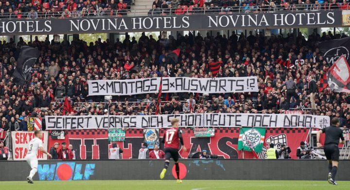 Bei St. Pauli-Spiel in Nürnberg: Erneute Proteste gegen Montagsspiele