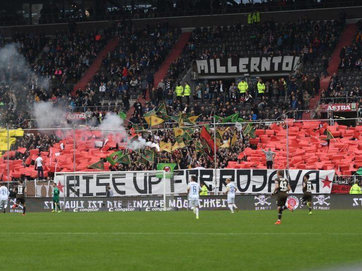 Das steckt hinter der St. Pauli-Choreo beim Darmstadt-Spiel