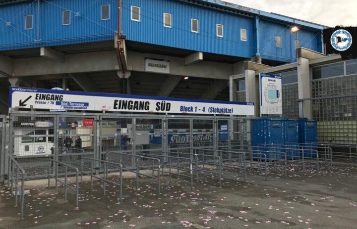 Stadion verunreinigt! Neonazi-Angriff gegen Zweitliga-Klub?