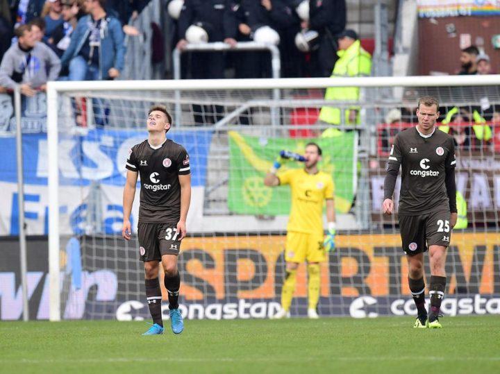 """St. Pauli-Noten gegen Karlsruhe: Trotz Last-Minute-Schock: Zweimal die """"Zwei"""""""