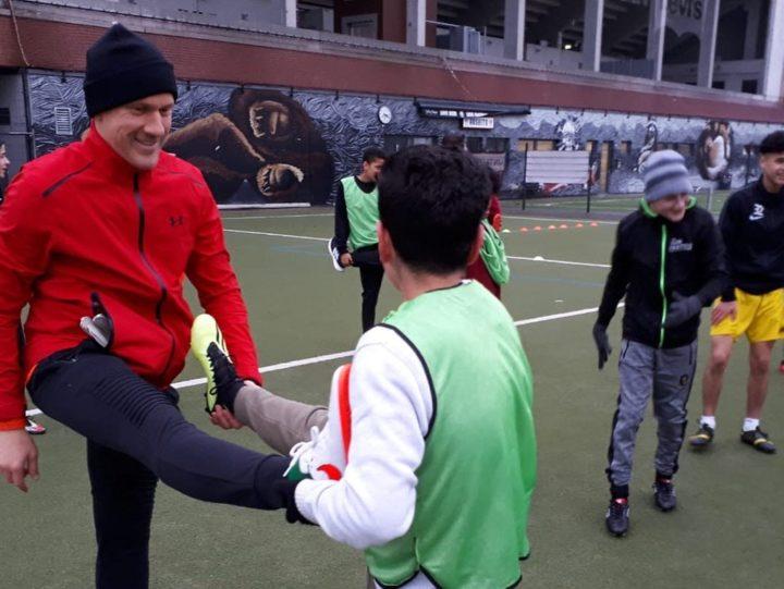 Hilfe für benachteiligte Kids: Ivan Klasnic ist jetzt Spielmacher