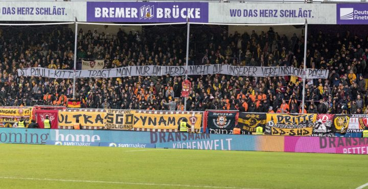 Dresdner Fans provozieren mit sexistischem Anti-St. Pauli-Banner