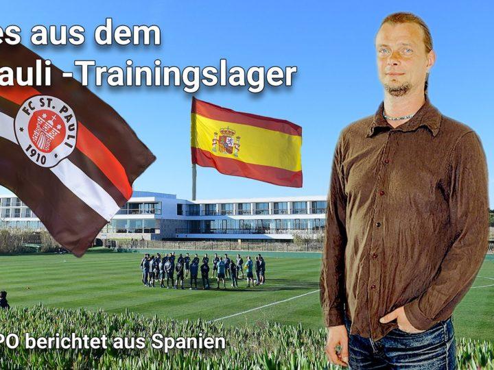 Video aus dem St. Pauli-Trainingslager: Zwischen Terrorverdacht und Testspiel