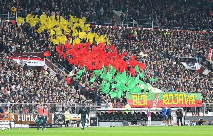DFB will St. Pauli für pro-kurdische Fan-Aktion bestrafen!