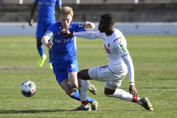 Gegen Köln: So lief Möller Daehlis Debüt für Genk