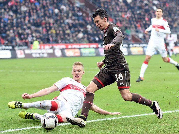 St. Paulis Sobota hat keinen Bammel vor dem großen VfB Stuttgart