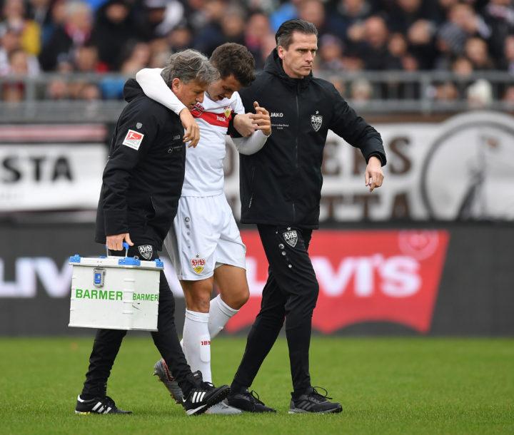 Kieferbruch! Stuttgart-Profi nach St. Pauli-Duell im Krankenhaus