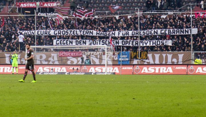 Volksverhetzung: Wurde Strafanzeige gegen St. Pauli-Fans gestellt?