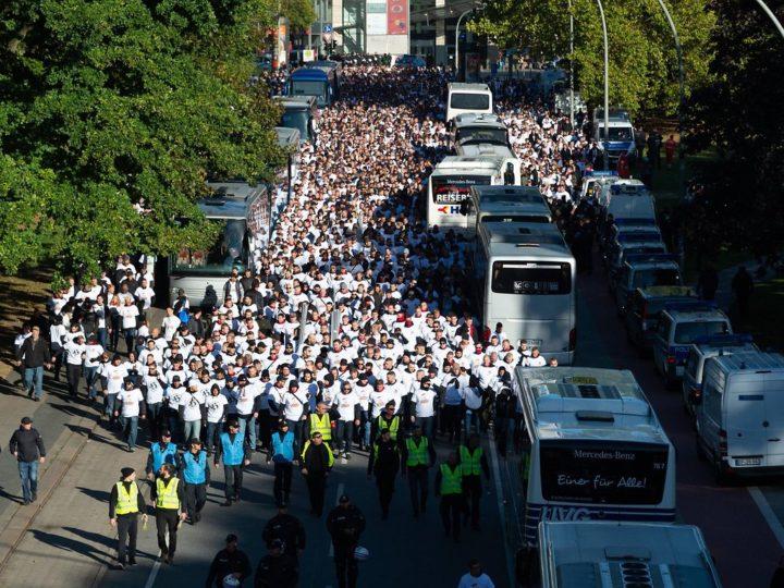 Beim Derby: St. Paulis Ultras planen Fan-Marsch durch HSV-Gebiet