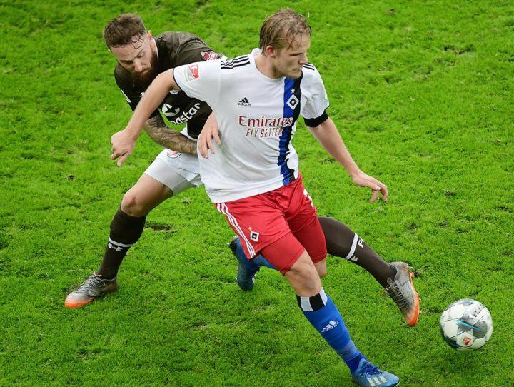 Trikot-Tausch mit einem HSV-Profi: Darum hatte Knoll keinen Bock darauf
