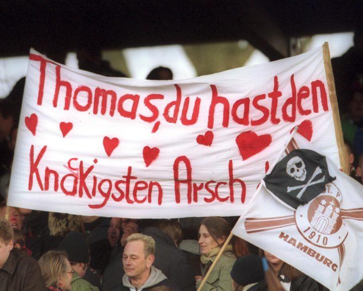 Heute vor 18 Jahren: St. Paulis Fans kämpfen um Thomas Meggle