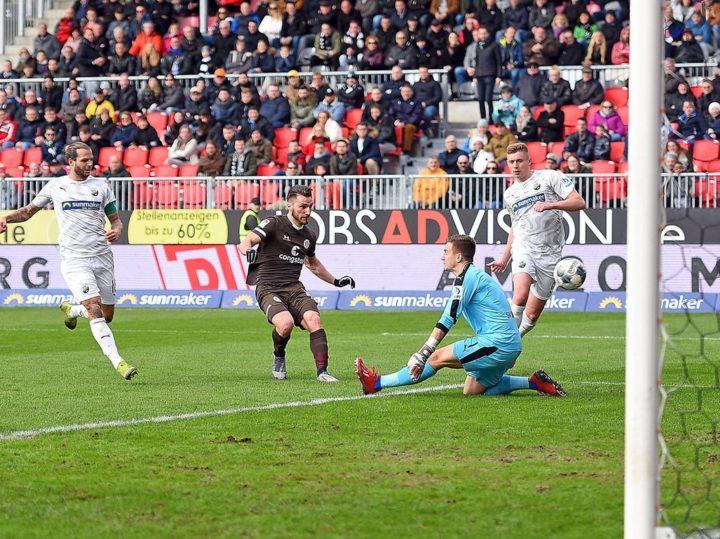 Kaum Torschüsse, viele Treffer: St. Paulis Effizienz-Offensive