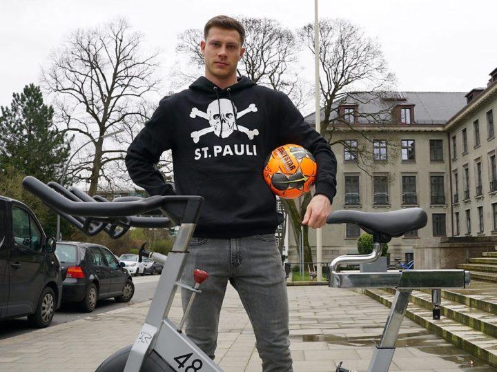 """""""Wie fahren auf Sicht"""": Der FC St. Pauli rüstet sich für das Home Office"""