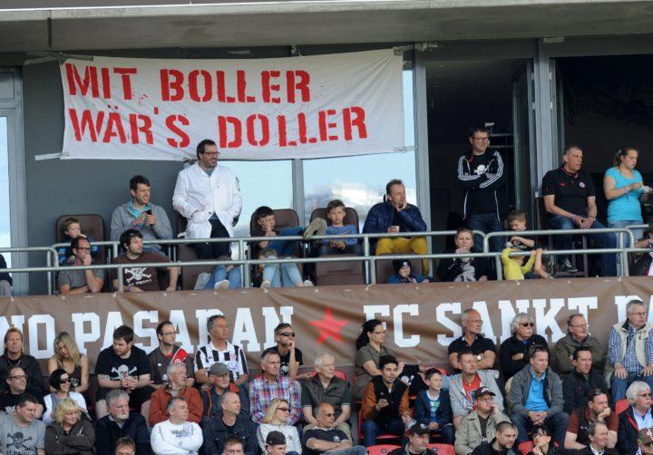 Fan-Proteste wegen Fabian Boll