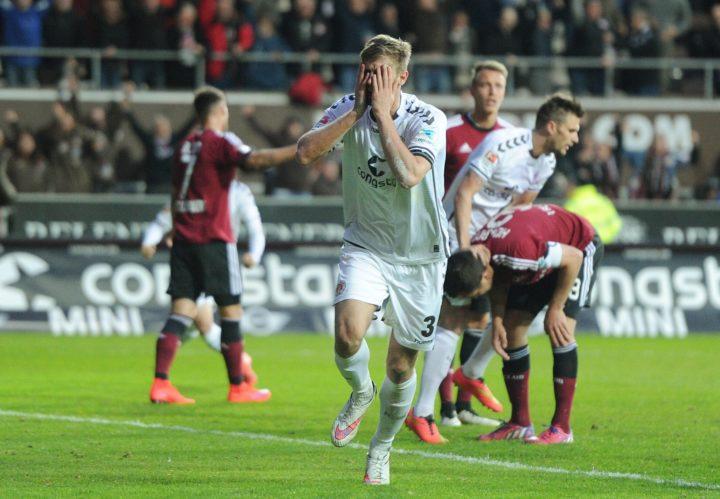 In letzter Minute: Lasse Sobiech rettet den FC St. Pauli im Abstiegskampf