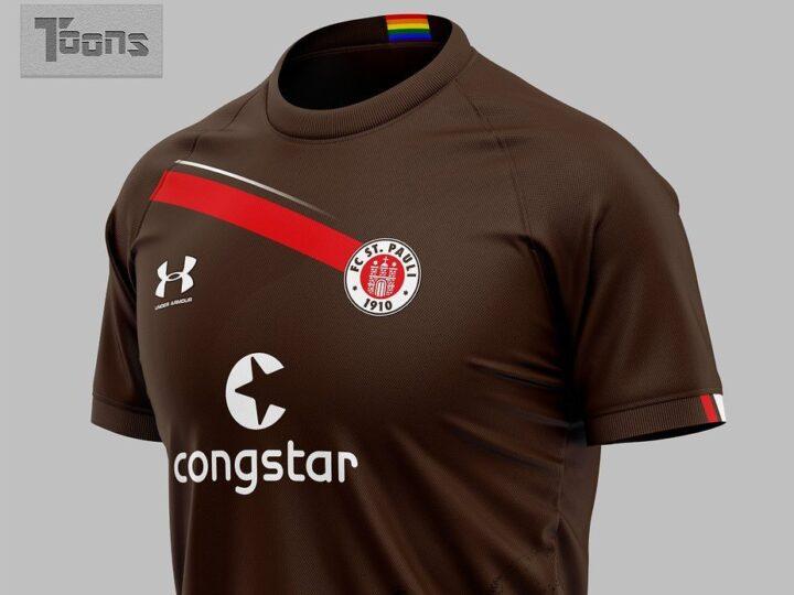 Sind das die neuen Trikots des FC St. Pauli?