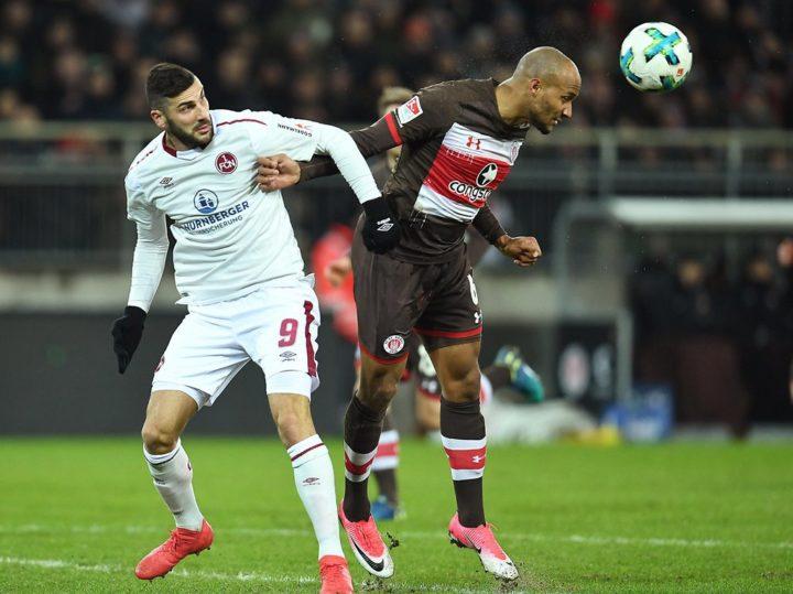 Transfergerücht: Ist der FC St. Pauli an einem Nürnberger Angreifer dran?