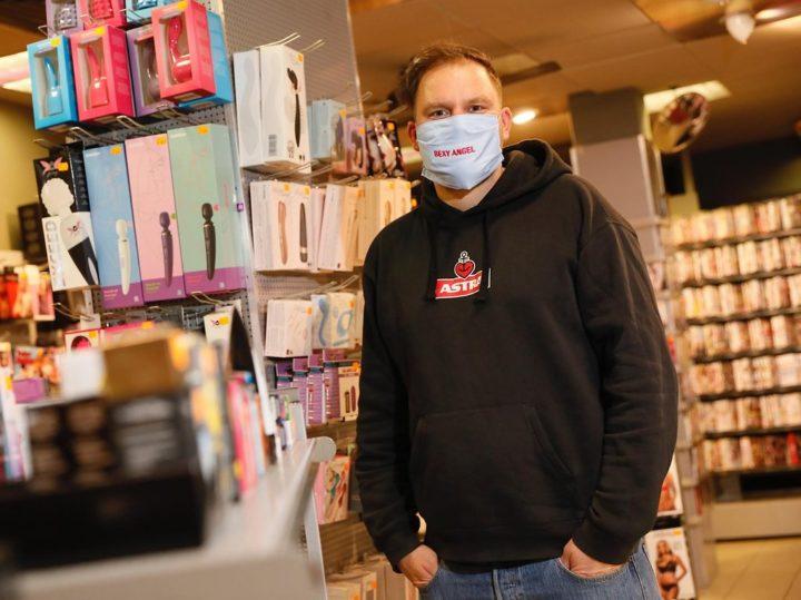 Pliquett eröffnet seine drei Sex-Shops wieder