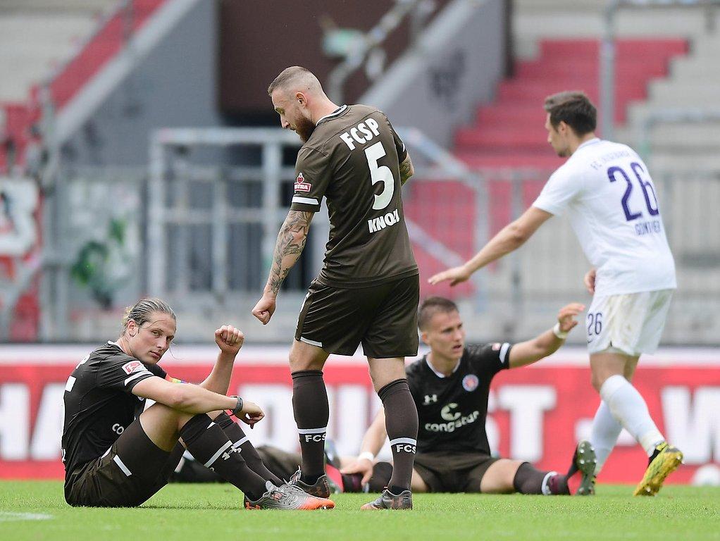 Aue Gegen St Pauli