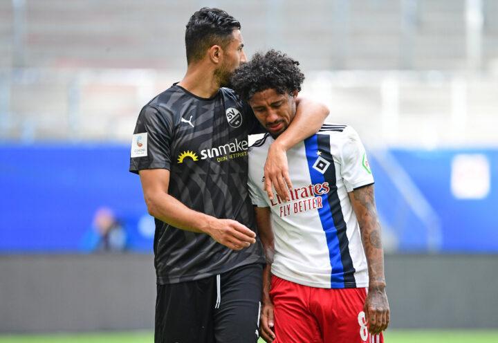 Nach verpasstem Aufstieg: Ex-Kiezkicker tröstet HSV-Profi