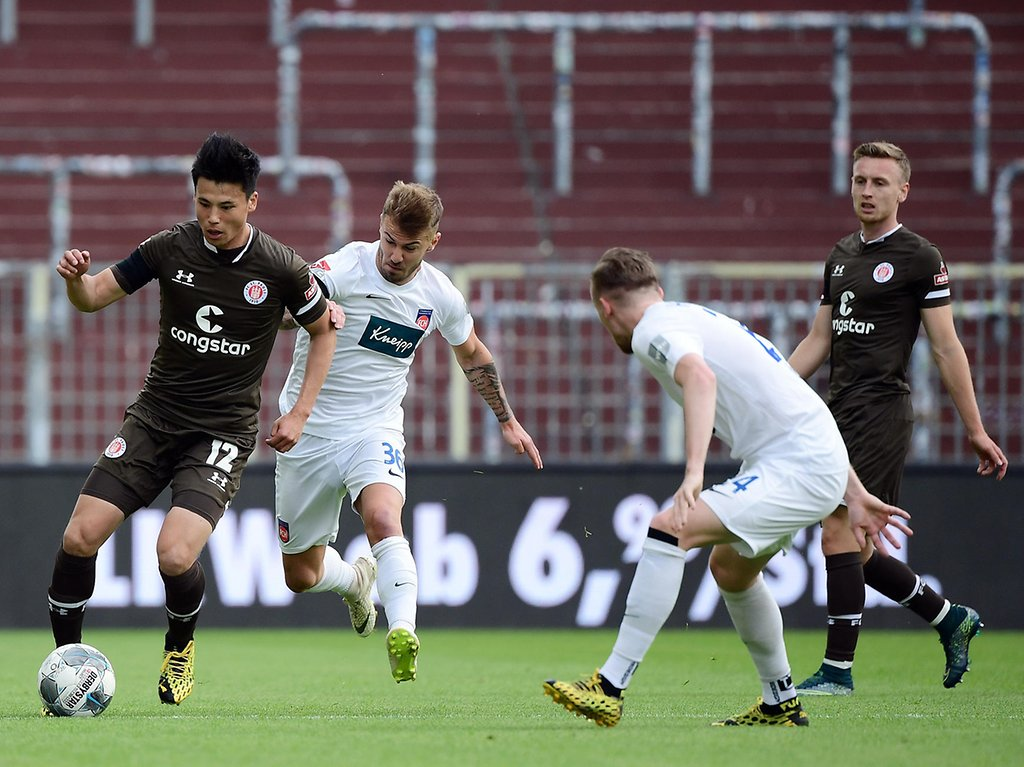 St Pauli Gegen Heidenheim