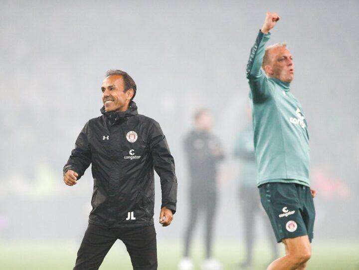 Derby-Held: Ex-Trainer Luhukay schweigt