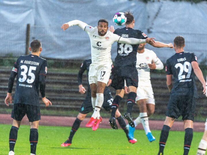 1:4-Test in Bremen: St. Pauli wacht erst in Hälfte zwei auf