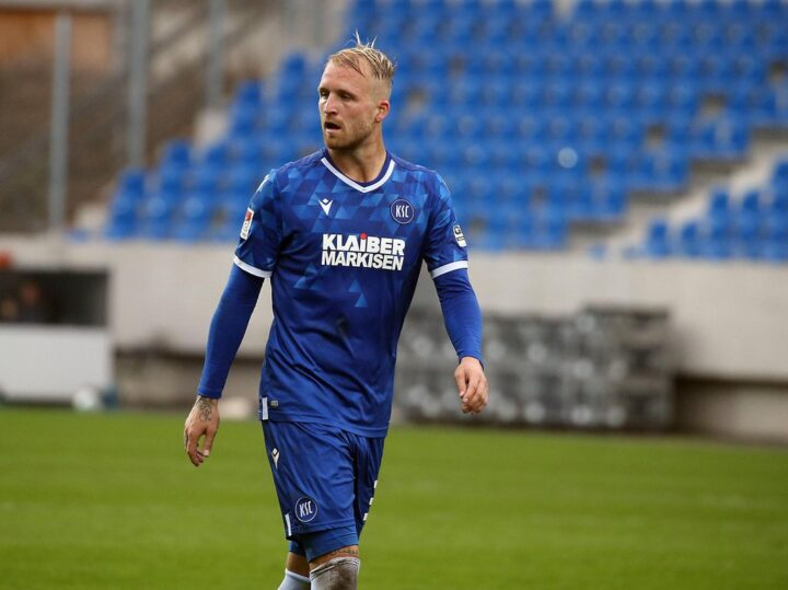 """Jetzt gegen St. Pauli: KSC-Torjäger Hofmann: """"Der HSV wollte mich trotz Terodde"""""""