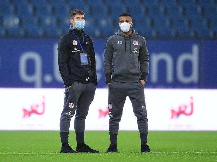 Maskenpflicht für St. Pauli-Profi Kyereh – auch während des Spiels!