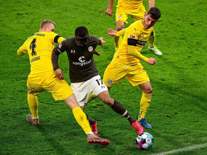 Ausgebremst: Kyerehs Tief trifft den FC St. Pauli hart