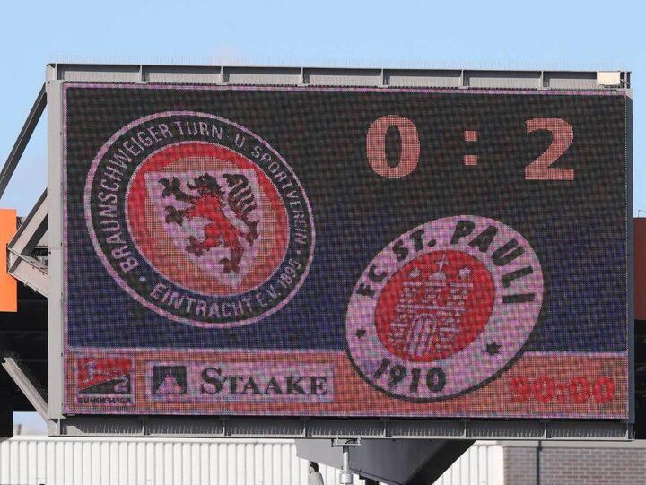 Bilanz in Braunschweig: Hamburger Straße ein gutes Pflaster für den FC St. Pauli