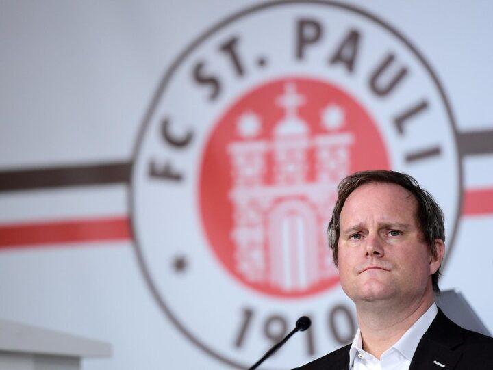 Das sagt St. Pauli-Boss Oke Göttlich über die sportliche Krise