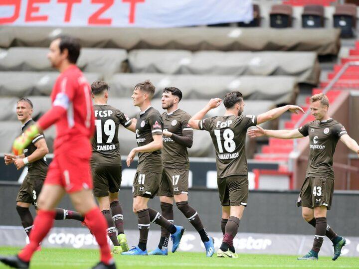 Jetzt im Liveticker: So läuft es für St. Pauli gegen Erzgebirge Aue