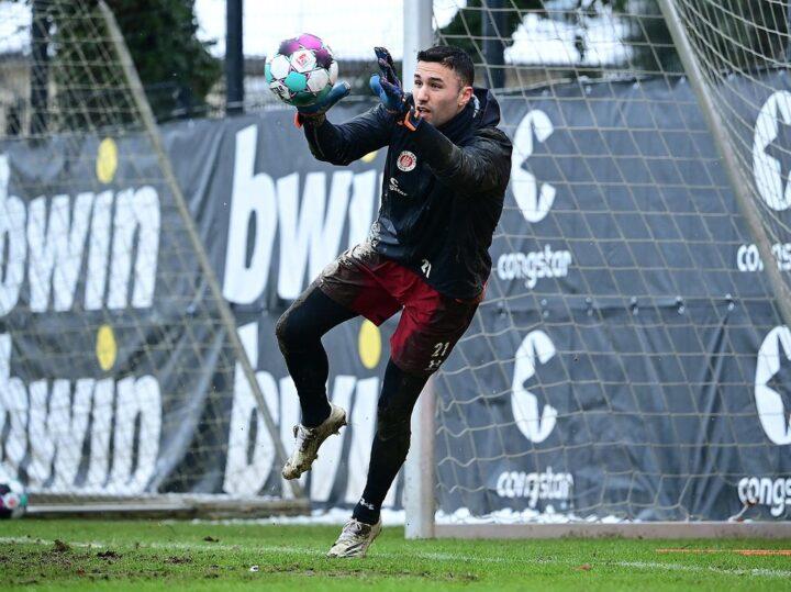 Schon gegen Kiel: Stojanovic hütet jetzt das St. Pauli-Tor