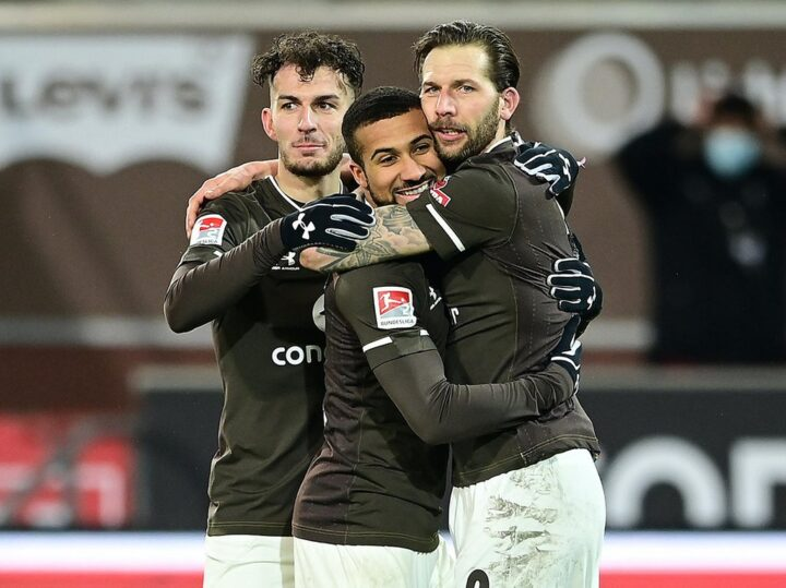 """""""Es macht riesig Spaß"""": St. Pauli feiert erste Keller-Party am Millerntor!"""