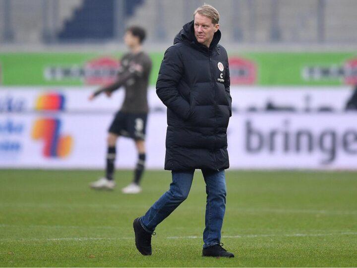 So geht's St. Paulis Coach Timo Schultz nach seinem Nierenstein-Leiden
