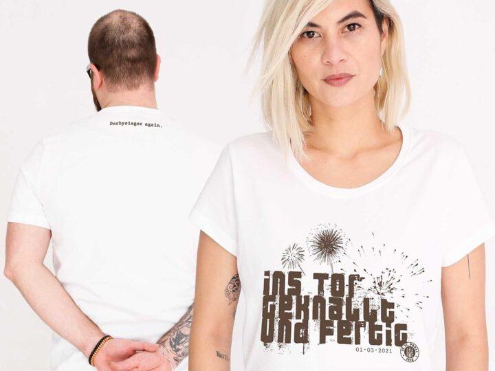 Mit Kyereh-Spruch: St. Paulis Derbysieger-Shirt wird zum Kassenschlager