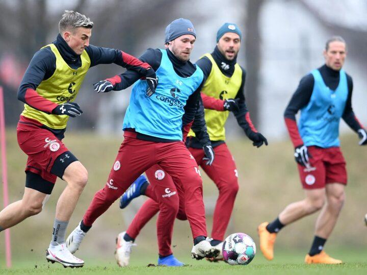 Zwei Spieler zurück! Aber: St. Paulis Juwel fehlt weiter im Training