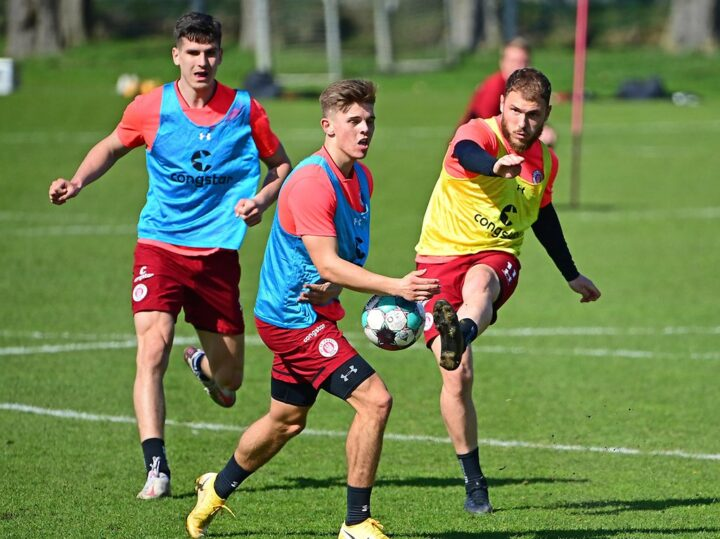 """""""Überragendes"""" Training: St. Pauli rast mit Vollgas auf die Zielgerade"""