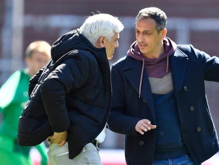 Zoff auf der Tribüne: Azzouzi gerät mit der St. Pauli-Delegation aneinander