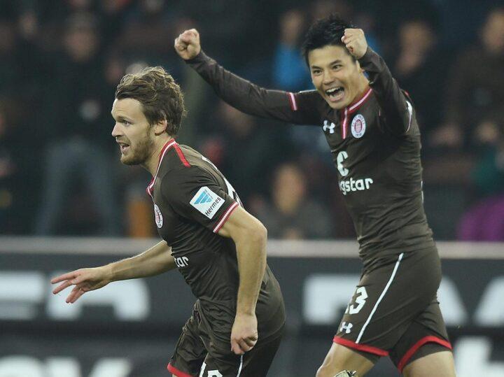 Buchtmann und Miyaichi vor dem Happy End bei St. Pauli