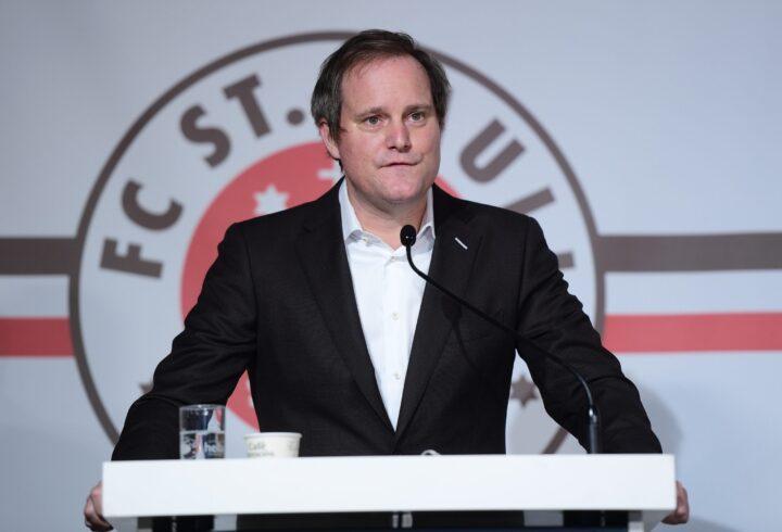 Wiederwahl als Präsident steht bevor: Bei St. Pauli bleibt es Göttlich