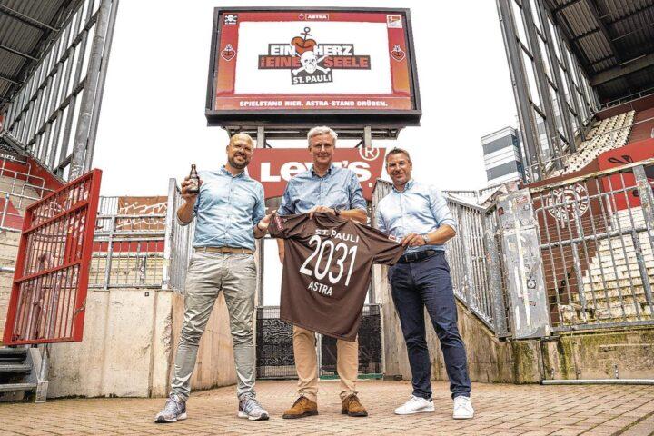 Für 10 Jahre! St. Pauli schließt neuen Deal mit Bier-Partner Astra
