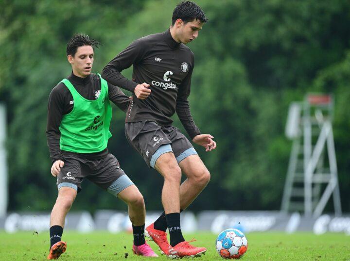 Können Teixeira und Brandt den Sprung zu den St. Pauli-Profis schaffen?