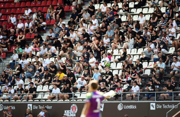 St. Pauli hofft gegen Kiel auf eine echte Stadion-Atmosphäre