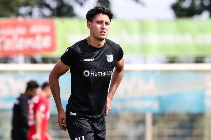 Wiedersehen: Magdeburgs Franzke will St. Pauli aus dem Pokal kegeln